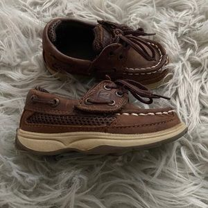 Sperry Toddler Boys' Lanyard A/C Boat Shoes
